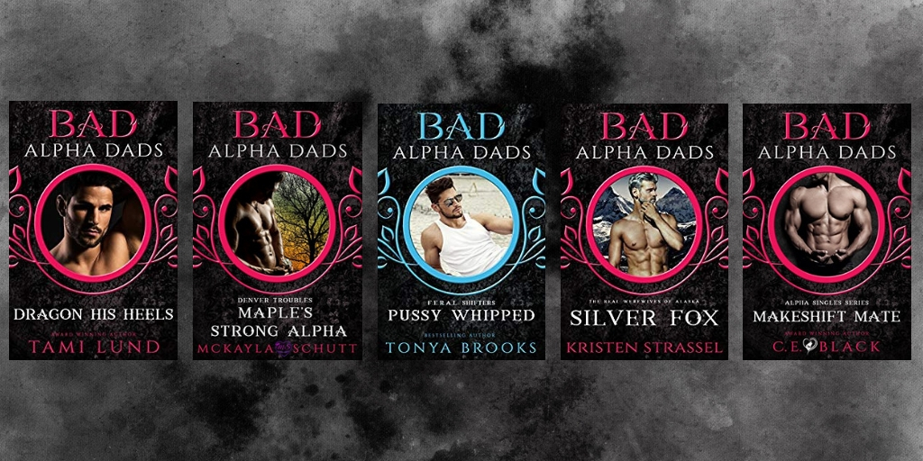 Bad Alpha Dad paranormal romance shapeshifter book covers