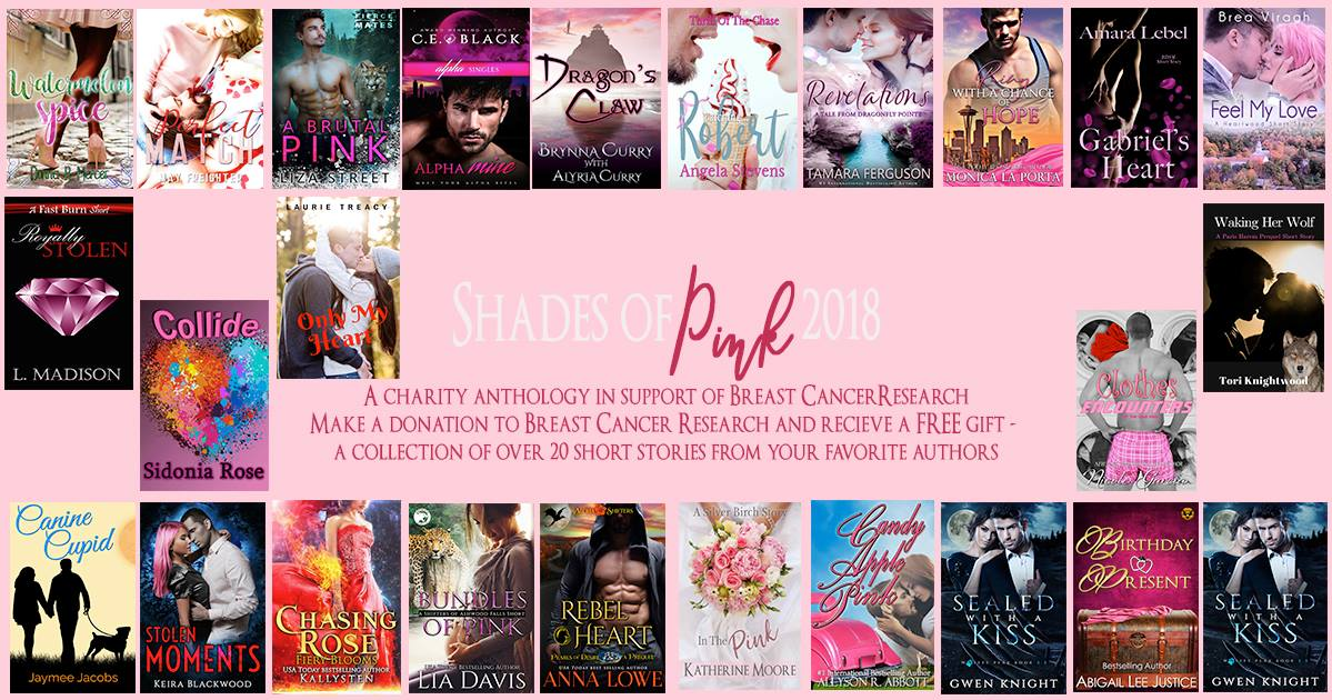 shades of pink banner