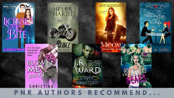 PNR Authors Recommend covers